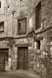 Oude Stad van Cuenca (Spanje) Royalty-vrije Stock Afbeeldingen