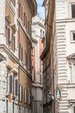 Oude stad van de mening van Rome Stock Foto