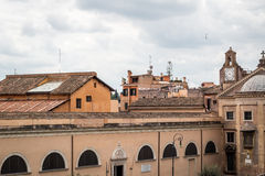 Oude stad van de mening van Rome Royalty-vrije Stock Fotografie