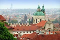 Oude stad van de Tsjechische Republiek van het Kasteel van Praag Royalty-vrije Stock Fotografie