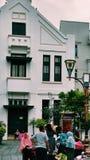 Oude stad van Djakarta stock foto's