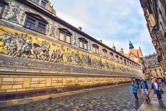 Oude stad van Dresden Stock Afbeeldingen