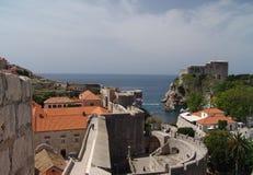 Oude Stad van Dubrovnik royalty-vrije stock foto