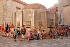 Oude Stad van Dubrovnik, Kroatië Stock Foto's