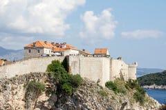 Oude stad van Dubrovnik, Kroatië Stock Foto