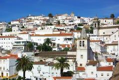 Oude stad van Elvas. Royalty-vrije Stock Afbeeldingen