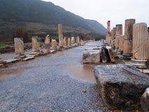 Oude Stad van Ephesus Stock Afbeelding