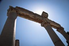 Oude Stad van Ephesus. Turkije Royalty-vrije Stock Foto's