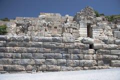 Oude Stad van Ephesus. Turkije Stock Afbeelding