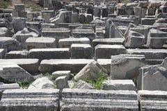 Oude Stad van Ephesus. Turkije Royalty-vrije Stock Afbeeldingen