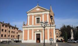 oude stad van Formigine, Italië stock afbeelding