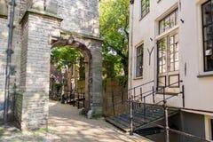 Oude stad van Gouda, Holland Stock Fotografie
