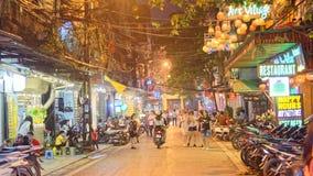 Oude stad van Hanoi stock afbeeldingen