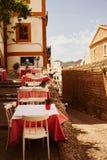 Oude stad van Ibiza de Baleaarse Spanje Royalty-vrije Stock Afbeelding