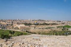 Oude Stad van Jeruzalem, Israël stock foto's