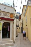 Oude stad van Krk Royalty-vrije Stock Afbeelding