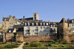 Oude stad van Le Mans in Frankrijk Royalty-vrije Stock Afbeeldingen