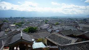 Oude Stad van Lijiang Royalty-vrije Stock Afbeelding