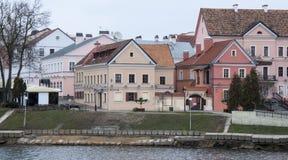 Oude stad van Minsk Royalty-vrije Stock Foto