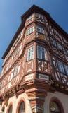 Oude stad van Mosbach in Zuidelijk Duitsland stock fotografie