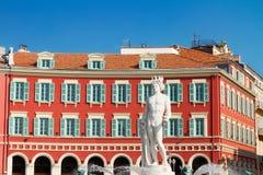 Oude stad van Nice, Frankrijk Stock Foto