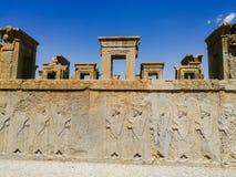 Oude stad van Persepolis in Iran Stock Foto's