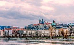 Oude stad van Praag, Tsjechisch Rep stock afbeeldingen