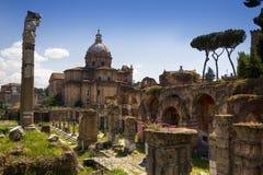 Oude stad van Rome, Italië Stock Foto's