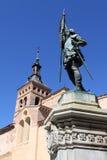 Oude stad van Segovia, Spanje Stock Foto's