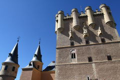 Oude stad van Segovia, Spanje Stock Afbeelding