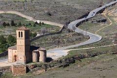 Oude stad van Segovia, Spanje Royalty-vrije Stock Foto