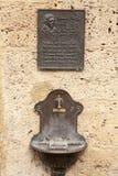 Oude stad van Slechte Urach in Zuidelijk Duitsland Royalty-vrije Stock Afbeelding