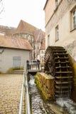 Oude stad van Slechte Urach in Zuidelijk Duitsland Stock Foto