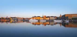 Oude Stad van Stockholm Royalty-vrije Stock Afbeelding