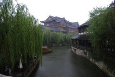 Oude stad van Taierzhuang Royalty-vrije Stock Foto