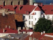 Oude stad van Tallinn royalty-vrije stock afbeelding