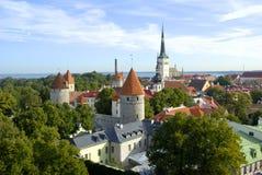 Oude stad van Tallinn Royalty-vrije Stock Afbeeldingen