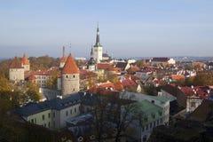 Oude stad van Tallinn Stock Foto