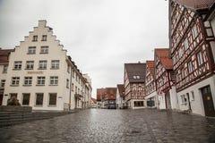 Oude stad van Trochtelfingen in Zuidelijk Duitsland Stock Foto's