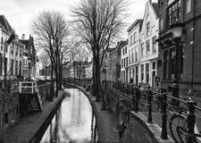 Oude Stad van Utrecht, Provincie van Utrecht, Nederland stock fotografie