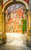 Oude stad van Wroclaw royalty-vrije stock foto