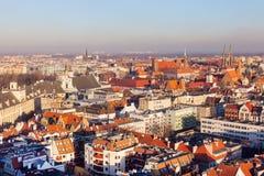 Oude stad van Wroclaw stock afbeelding