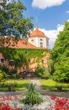 Oude stad van Zittau Stock Fotografie