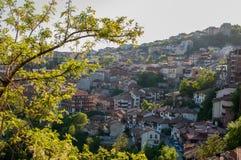 Oude Stad Veliko Tarnovo bulgarije Royalty-vrije Stock Afbeeldingen