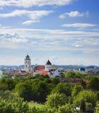 Oude stad Vilnius Royalty-vrije Stock Foto's