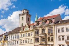 Oude stad Zittau Royalty-vrije Stock Afbeeldingen