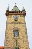 Oude stadhuistoren in Praag Royalty-vrije Stock Afbeelding