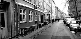 Oude Stadsarchitectuur in de Hoofdstad van Denemarken stock afbeelding