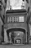 Oude stadsgateway Royalty-vrije Stock Afbeeldingen