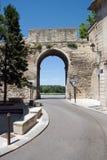 Oude stadsingang Avignon Stock Foto